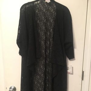 Lularoe lace Shirley small NWT floral